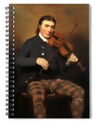 Niel Gow - Violinist And Composer Spiral Notebook