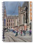 Nieuwe Kerk In Amsterdam Spiral Notebook