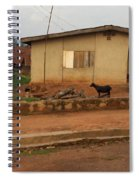 Nigerian House Spiral Notebook