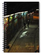 Night Activity Spiral Notebook