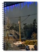 Night After The Ice Storm Spiral Notebook