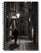 Night Appointment Spiral Notebook