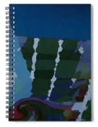 Night At Granville Island Spiral Notebook