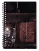Night At The Durango Roundhouse Spiral Notebook