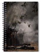 Night Battle Spiral Notebook
