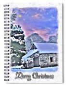 Christmas Card 27 Spiral Notebook