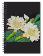 Night Blooming Cacti Spiral Notebook