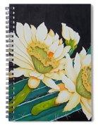Night Blooming Cactus Spiral Notebook