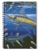 Night Broadbill Off0068 Spiral Notebook