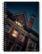 Night Building Spiral Notebook