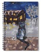Night Cat Spiral Notebook
