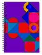 Night Color Spiral Notebook