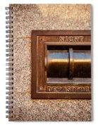 Night Deposit Spiral Notebook