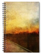 Night Falls Spiral Notebook