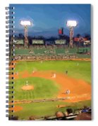 Night Fenway Pop Spiral Notebook