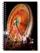 Night Ferris Wheel 3 Spiral Notebook