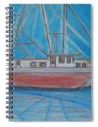 Night Fishing Spiral Notebook