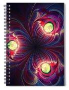 Night Flower Spiral Notebook