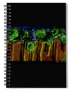 Night Forest Tapestry Spiral Notebook