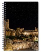 Night In The Old City Spiral Notebook