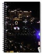 Night In Vegas 2008 Spiral Notebook