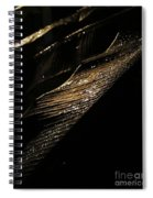Night Leaves Spiral Notebook