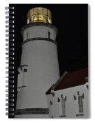 Night Life At Heceta Spiral Notebook