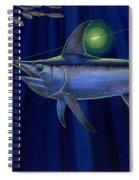 Night Life Off0026 Spiral Notebook