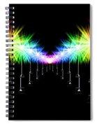 Night Light Panoramic Spiral Notebook