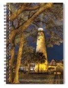 Night Lighthouse Spiral Notebook