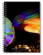 Night Lights Spiral Notebook