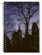 Night Lights Empire State Spiral Notebook