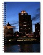 Night Lights  Spiral Notebook
