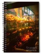 Night Market Spiral Notebook