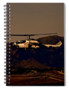 Night Mission Spiral Notebook