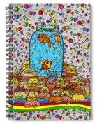 Night Nap Spiral Notebook