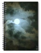 Night Of The Moon Spiral Notebook