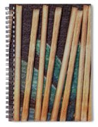 Night On The Bread Stick Planet Spiral Notebook