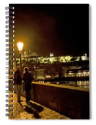 Night On The Charles Bridge Spiral Notebook