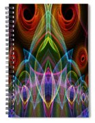 Night On The Town Spiral Notebook