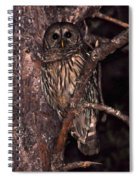 Night Owl Spiral Notebook