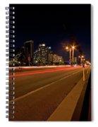 Night Parking Meter Spiral Notebook
