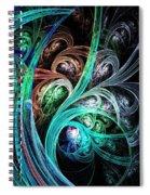 Night Phoenix Spiral Notebook