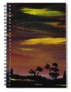 Night Scene Spiral Notebook