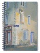 Night Scene In Arles France Spiral Notebook