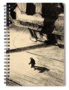 Night Shadows Spiral Notebook