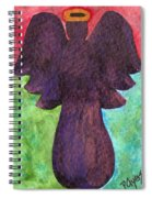 Night Shift Angel Spiral Notebook