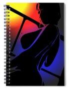 Night Sun Spiral Notebook