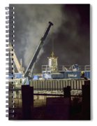 Night Time Frac Spiral Notebook