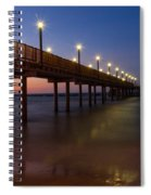 Night Time Sea Spiral Notebook